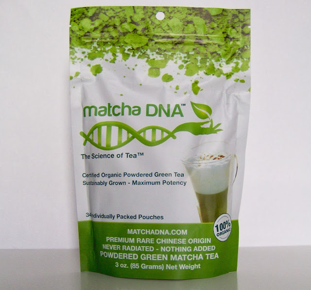 MatchaDNA, an organic and quick matcha