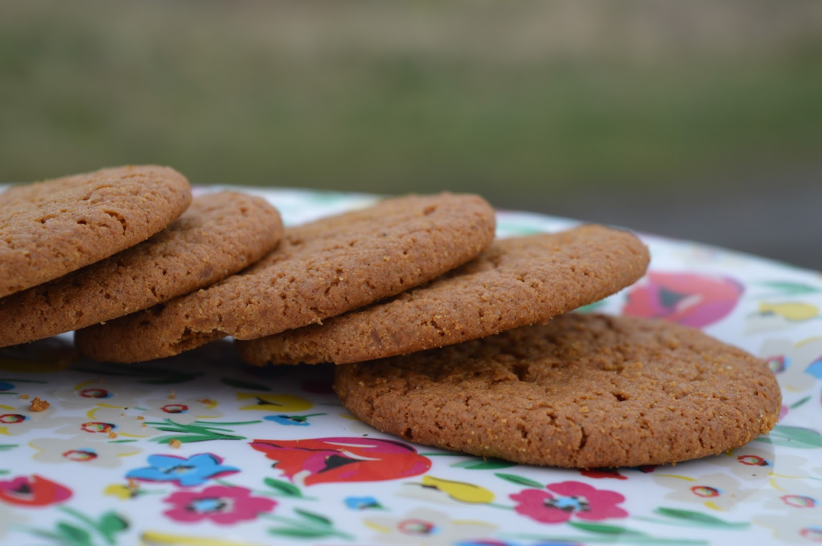 Hand baked Ringtons Ginger Snap Biscuits
