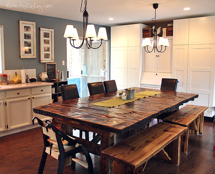 Dining Tables With Bench