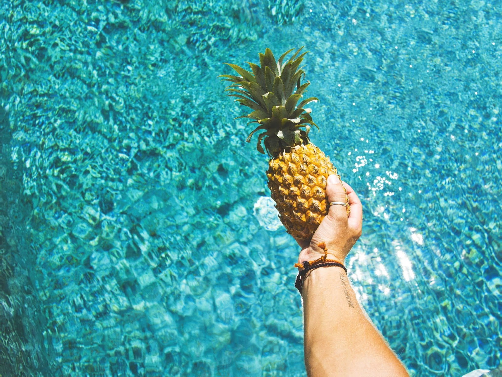 Pineapple in Pool