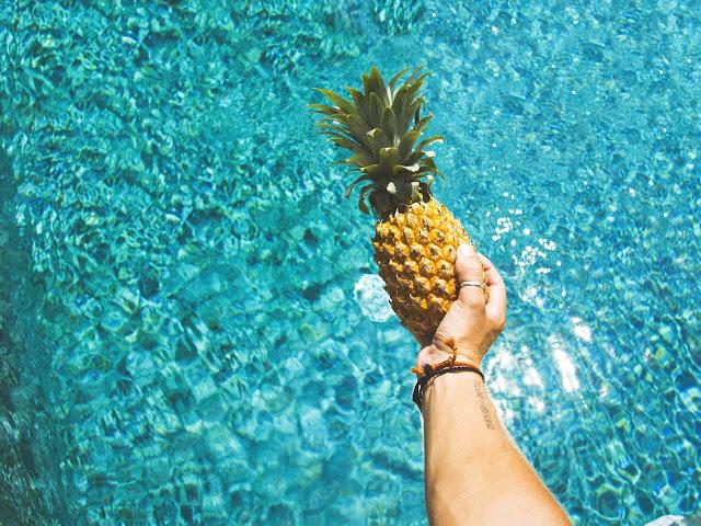 Pineapple in Pool