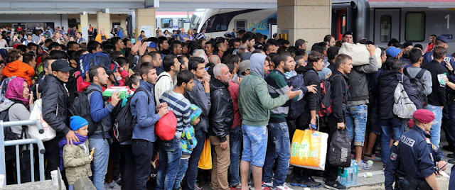 """Refugees"" Heading for Sweden"