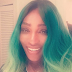 BEAUTY: Serena Williams Rocks Green Hair Do!