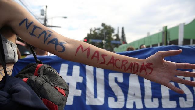 Revelan causas de las muertes de las 40 niñas de Guatemala