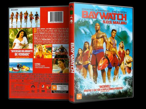 Capa DVD Baywatch: S.O.S. Malibu