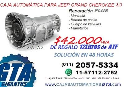 reparacion y venta de caja automatica jeep grand cherokee crd 3.0