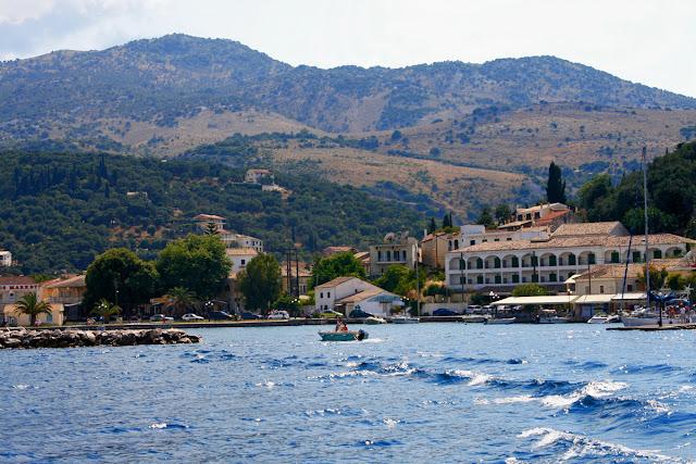 Port in Kassioppi. Corfu. Greece. Порт в Кассиоппи. Корфу. Греция