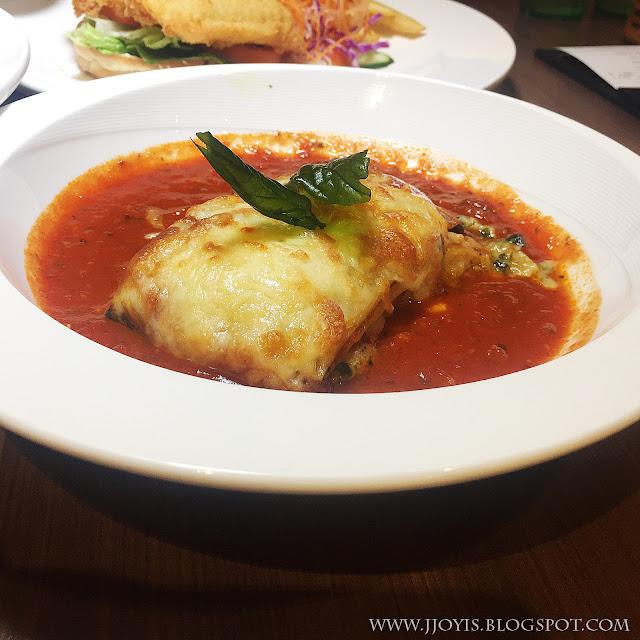 swensens lasagna vegetarian
