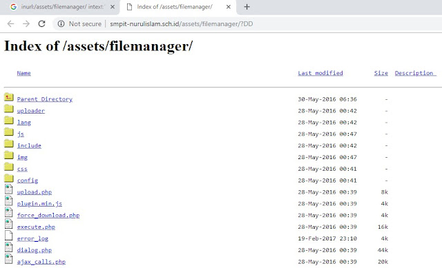 Cara Belajar Deface Dengan Metode Responsive File Manager