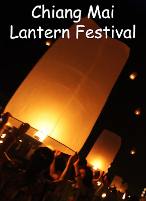 Travel the World: Celebrating Loy Krathong in Bangkok and Yee Peng (Floating Lantern Festival) in Chiang Mai Thailand.