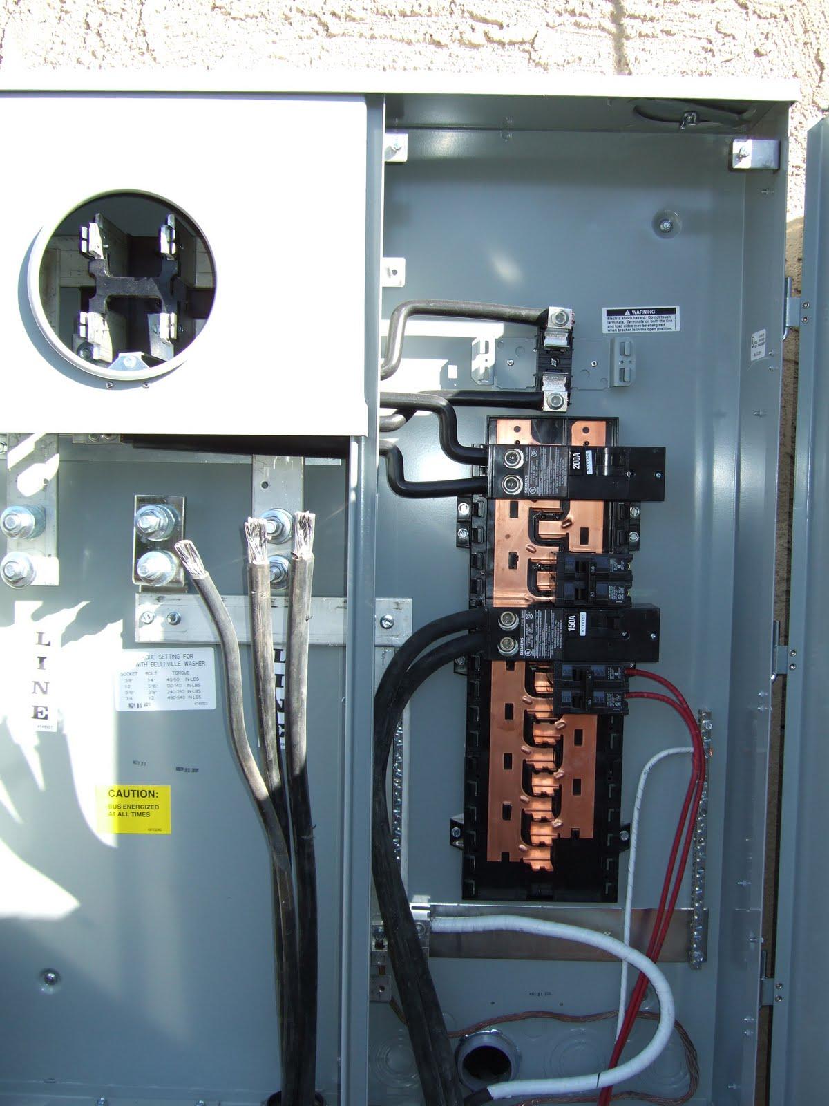 Wiring A 400 Amp Meter Base