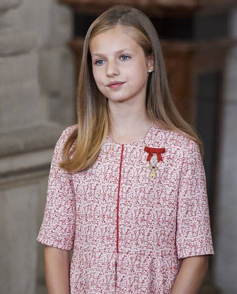 The eldest daughter of King Felipe and Queen Letizia, Crown Princess Leonor celebrates her 14th birthday