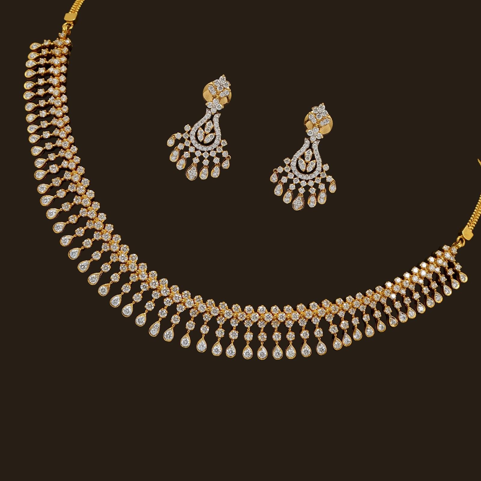 Lulu Online Shopping Sale News And Shopping Details Vummidi Diamond Necklace Sets