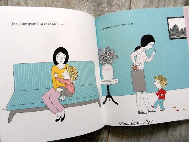Sélection de livres sur les mamans (Et dans leur bibliothèque il y a... # 1) : Mon amour