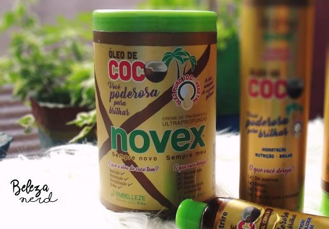 Resenha linha óleo de Coco Novex