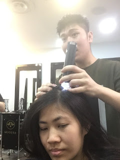Oway hair loss treatment at Focus Hairdressing Singapore