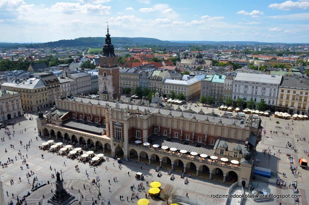 Kraków z dziećmi- Hejnał na Wieży Mariackiej