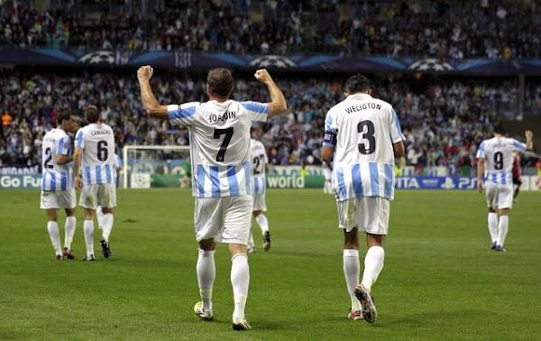 Málaga, la UEFA recuerda el misil de Eliseu