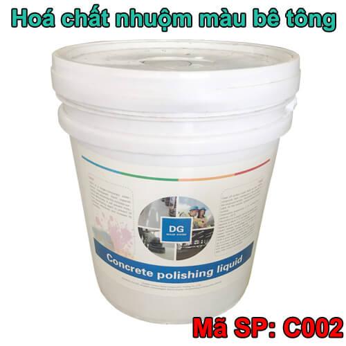 Hóa chất nhuộm màu sàn bê tông DG C002 công nghệ mỹ