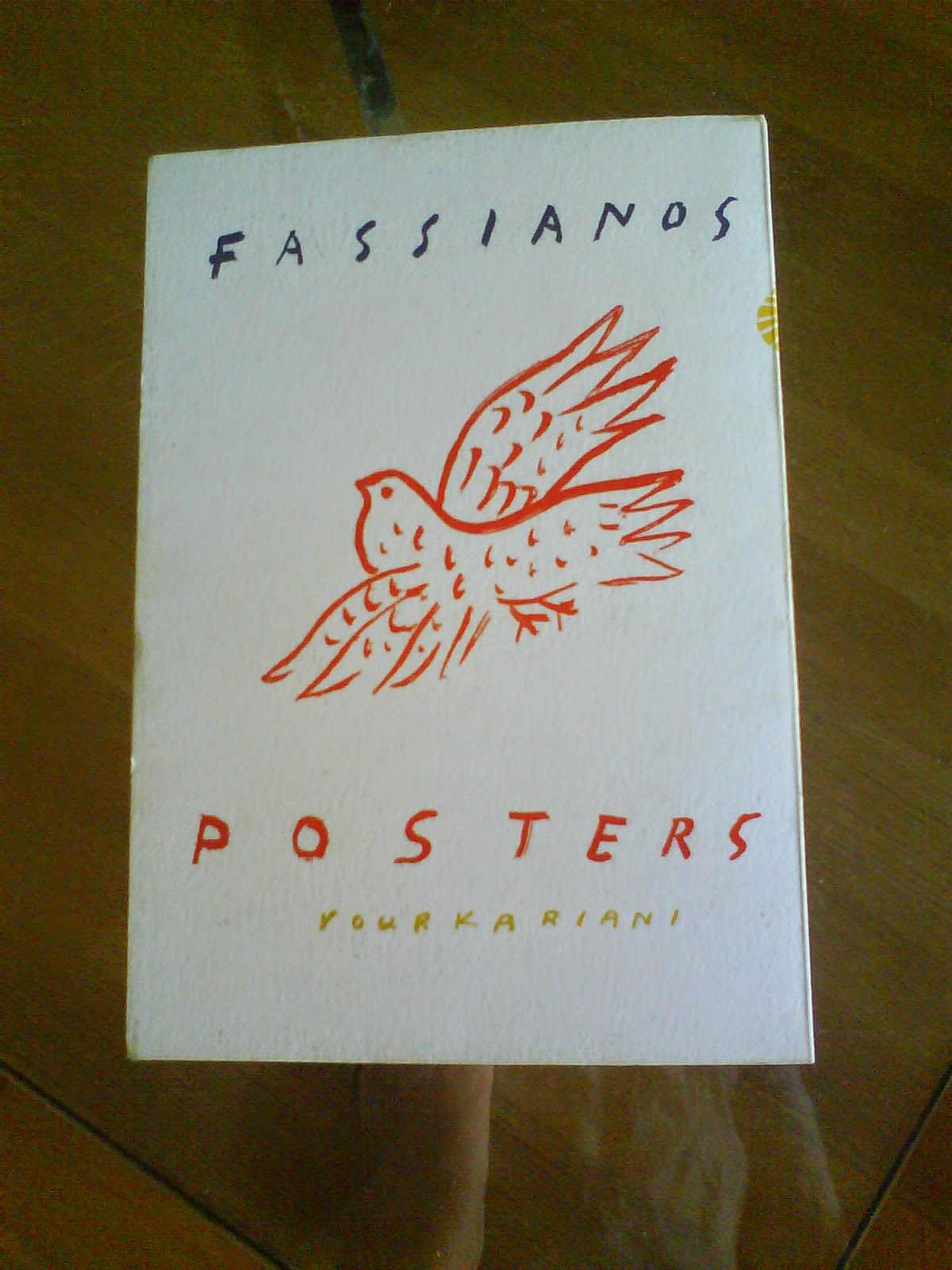 Book about Fassianos posters