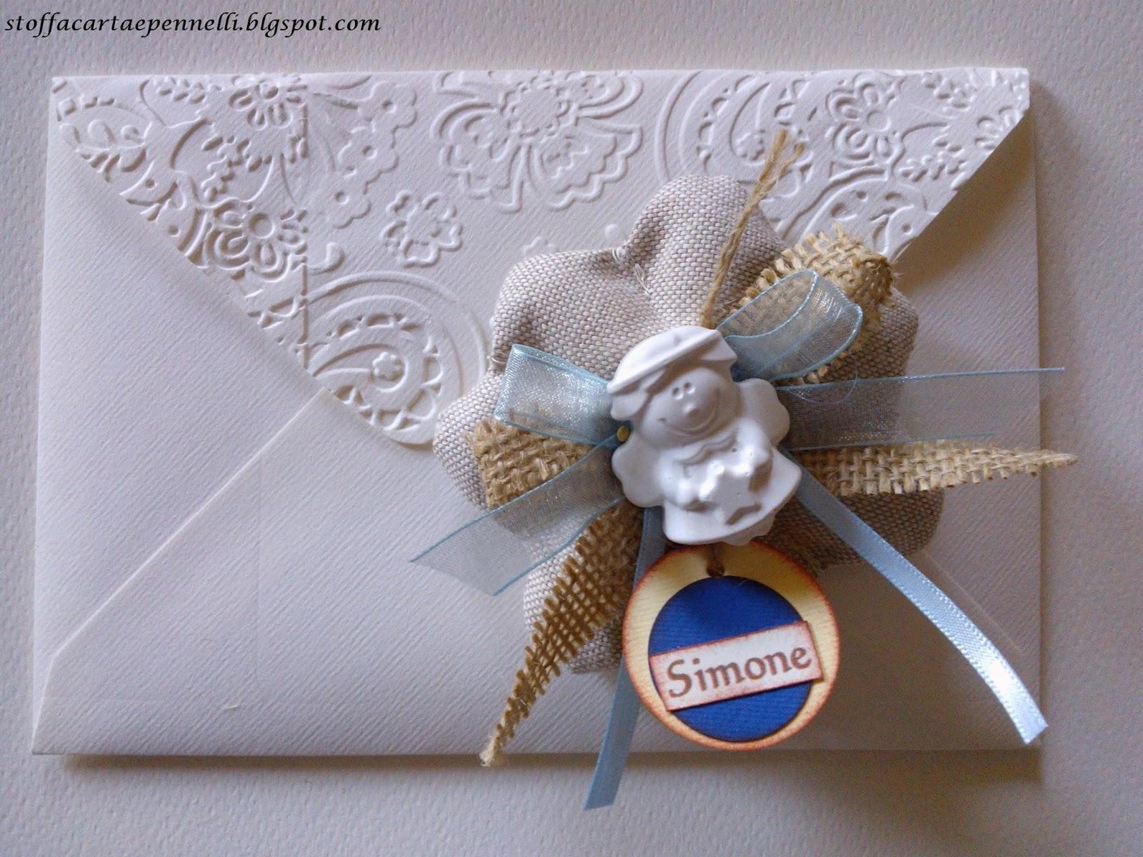 Famoso stoffa carta e pennelli: Bomboniere con gessetti profumati Prima  SM72