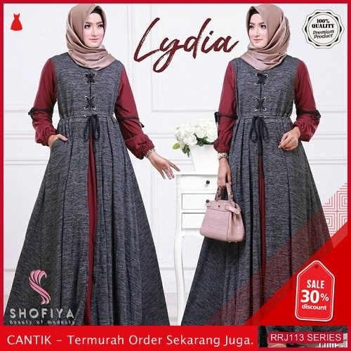 Jual RRJ113D324 Dress Lydia Maxy Wanita Terbaru Trendy  BMGShop