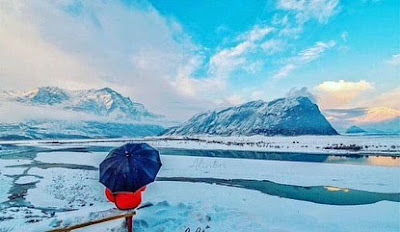 Skardu in winter
