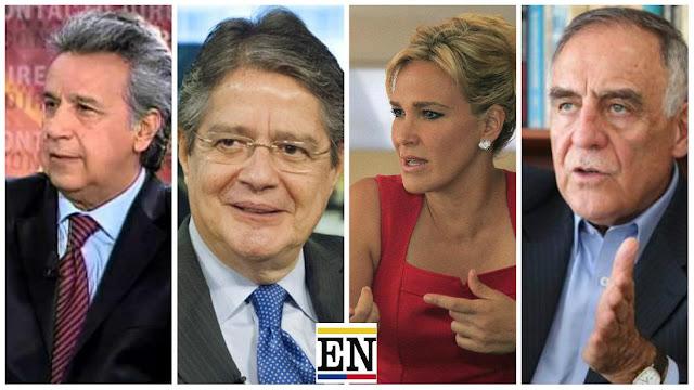 ultimas encuestas presidente ecuador 2017