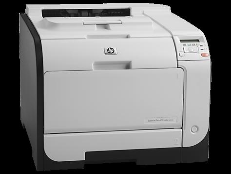 HP LaserJet Pro 400 a cores m451dn Driver