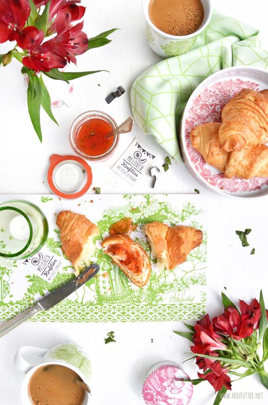 Rezept für Melonen-Marmelade zum Frühstück
