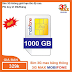 Sim 3G dị nhân Vinaphone max băng thông 35k