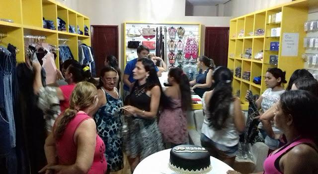 Veja como foi a inauguração da loja JS Modas em Riacho dos Cavalos