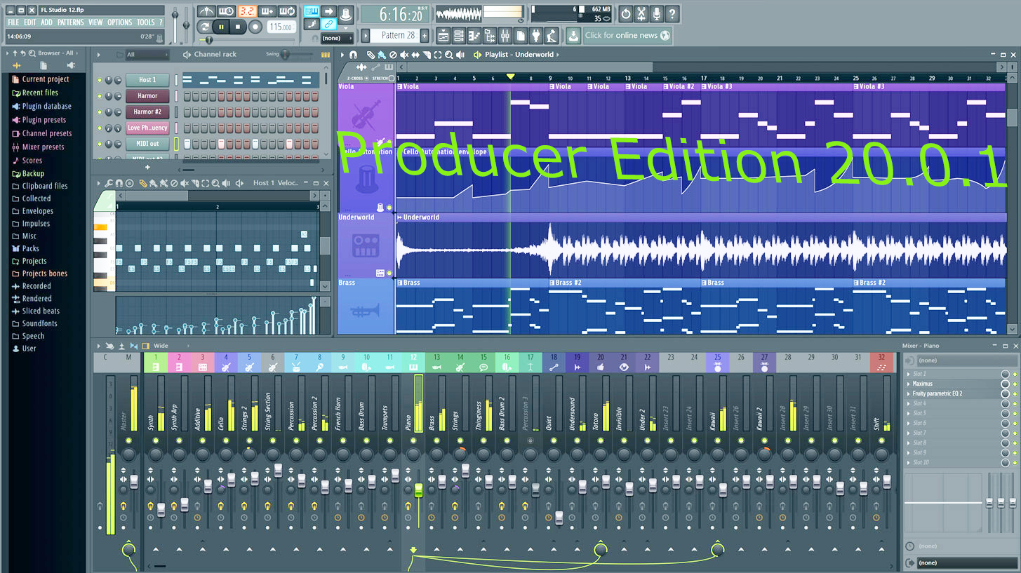 fl studio 10 signature bundle free download