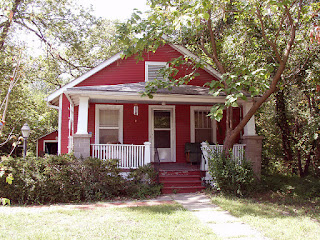 William S. Burroughs house in Lawrence, Kansas