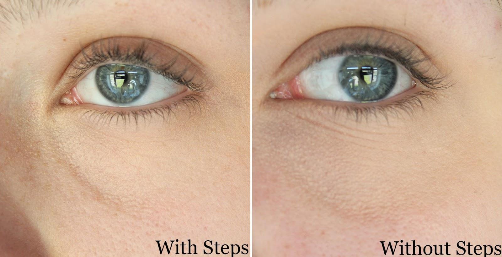 Makeup Lines Under Eyes