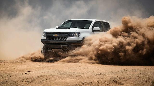 Новинка на рынке внедорожников Chevrolet ZR2
