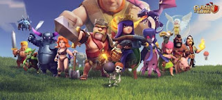 Clash Of Clans Mod/Hack Apk Update Oktober 2015-cover