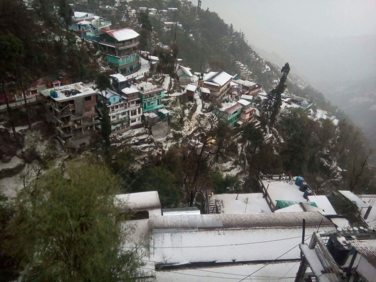 Hailstone in Darjeeling 10