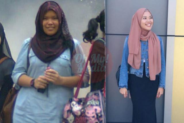 Gadis Ini Kongsi Tips Kurangkan 20kg Tanpa Sebarang Supplements