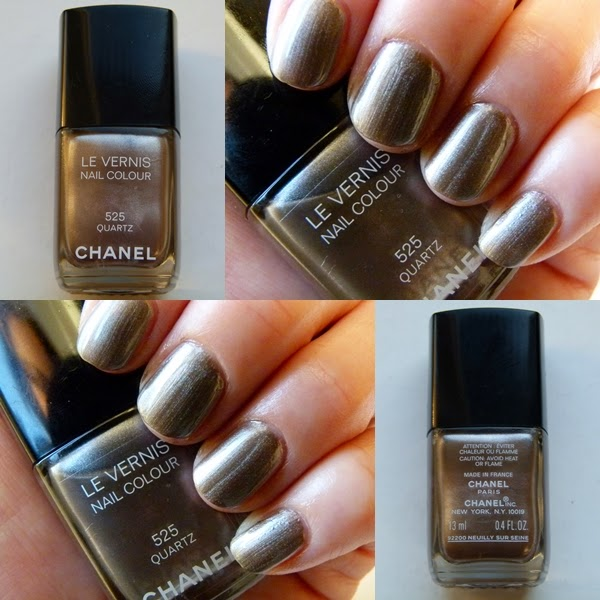 NOTD: Chanel Nagellack Quartz 525 - mit Swatches und Review