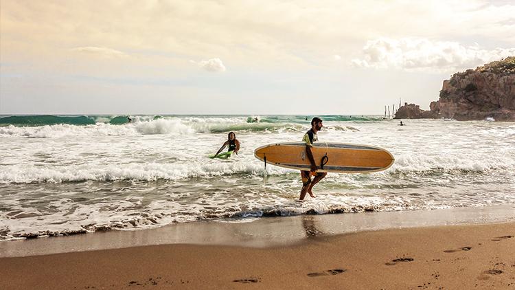 Transport deski surfingowej