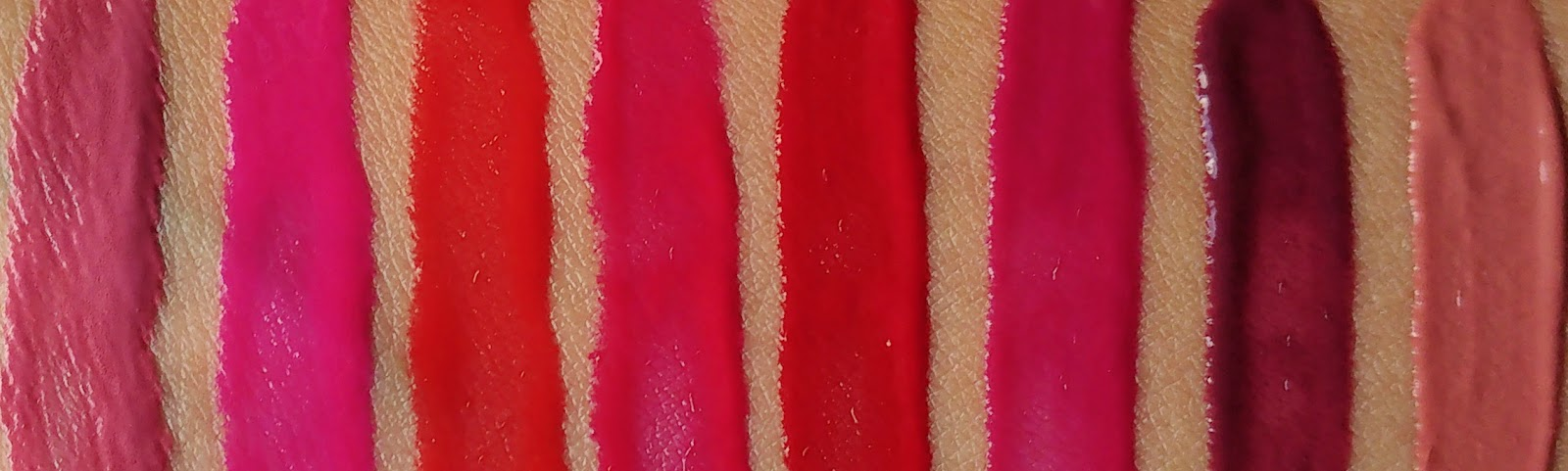 Maybelline Vivid Matte Liquid Swatched and Reviewed