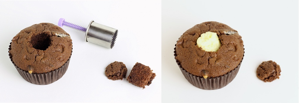 Double Chocolate Cookie Cupcakes Anleitung