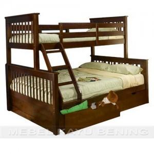 model tempat tidur anak tingkat 4