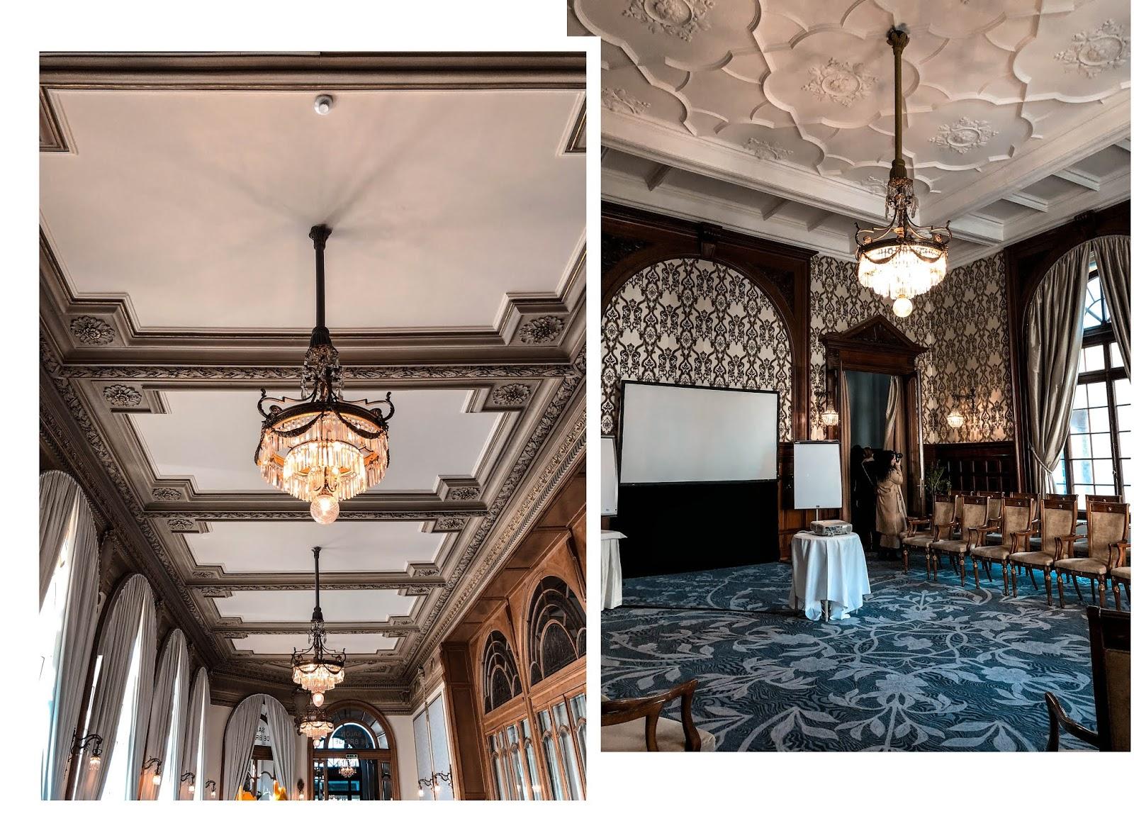Fairmont Palace Montreux hôtel luxe