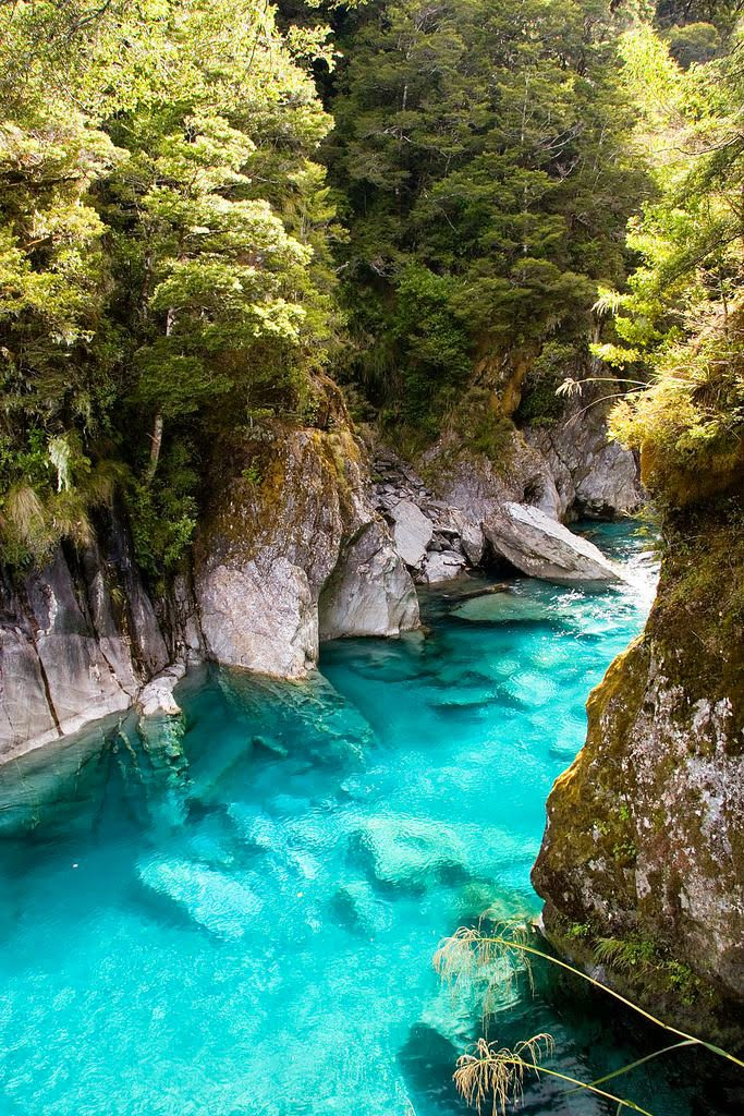 The Blue Pools, Queenstown New Zealand