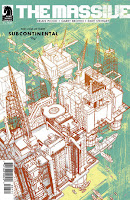 The Massive #7  Writer: Brian Wood Art: Garry Brown Colors: Dave Stewart Letters: Jared K. Fletcher Cover Art: J.P. Leon