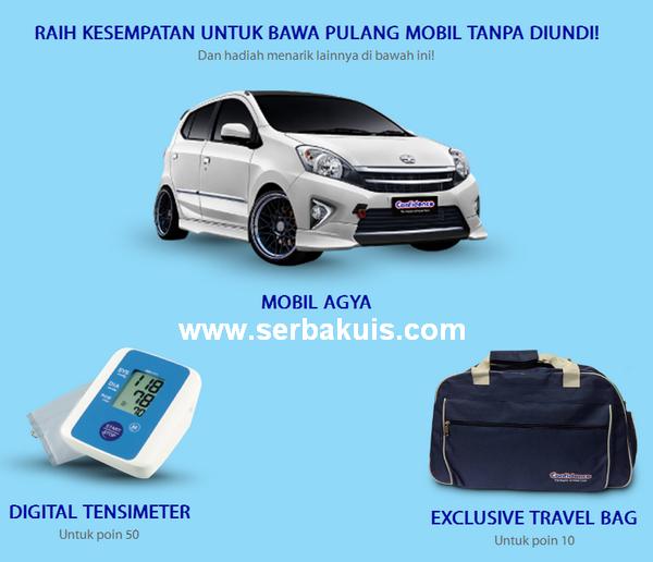 Promo Reward Poin Berhadiah Toyota Agya