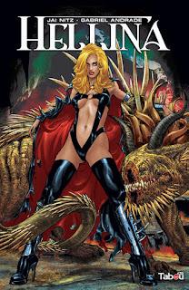 Hellina un comics des éditions Tabou