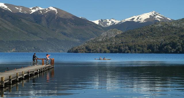 Estrutura do Lago Gutiérrez em Bariloche